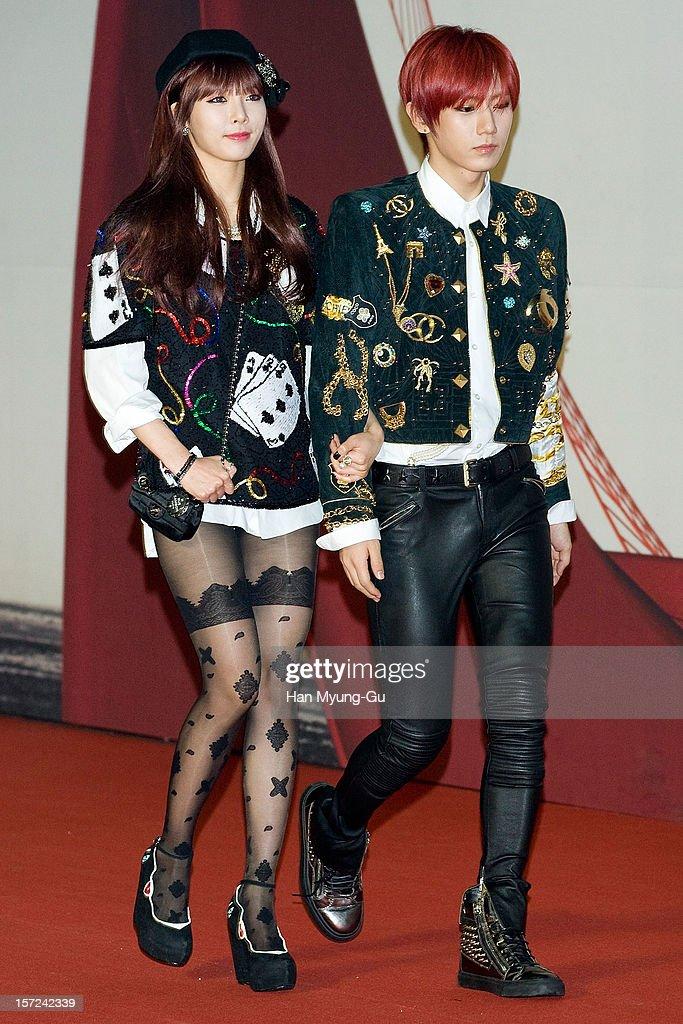 Hyuna und Hyunseung aus dem Jahr 2012