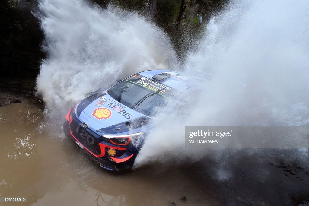 TOPSHOT-AUTO-RALLY-AUS : News Photo