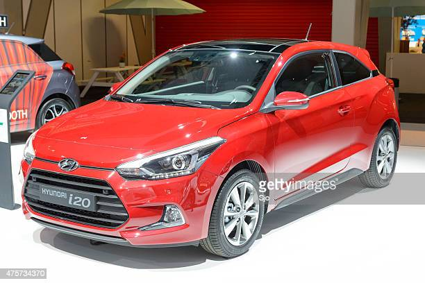 Hyundai i20 hatchback car