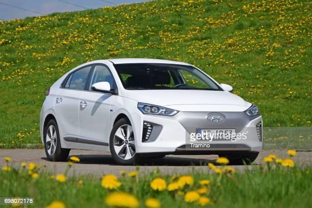 Hyundai Ioniq Electric on the street