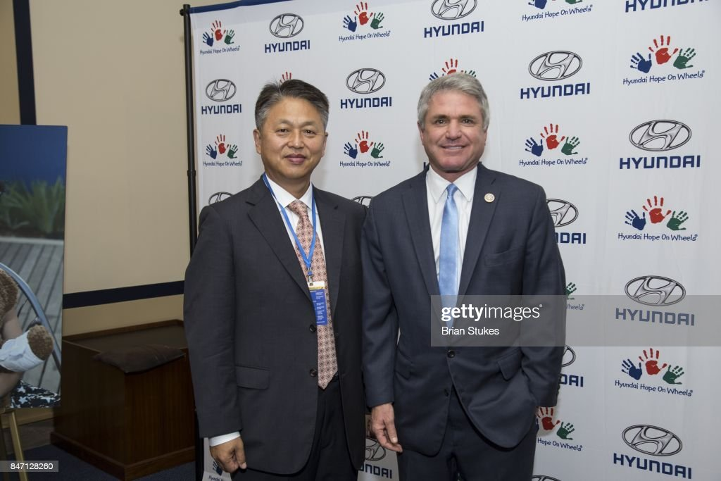 Hyundai Hope On Wheels Press Conference : News Photo