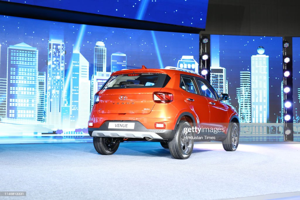IND: Hyundai Motor Launches India's First-Ever Fully Connected Suv Hyundai Venue