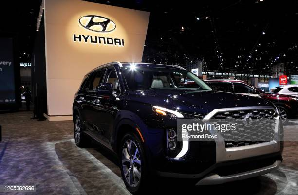 Hyundai Palisade is on display at the 112th Annual Chicago Auto Show at McCormick Place in Chicago, Illinois on February 6, 2020.
