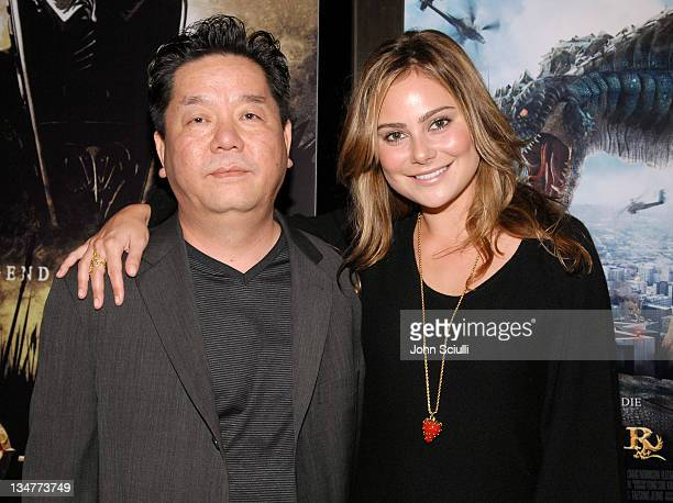 Hyungrae Shim director and Amanda Brooks during Younggu and Showbox Art Presents Special Screening of 'DWars' at Paramount Theatre in West Hollywood...