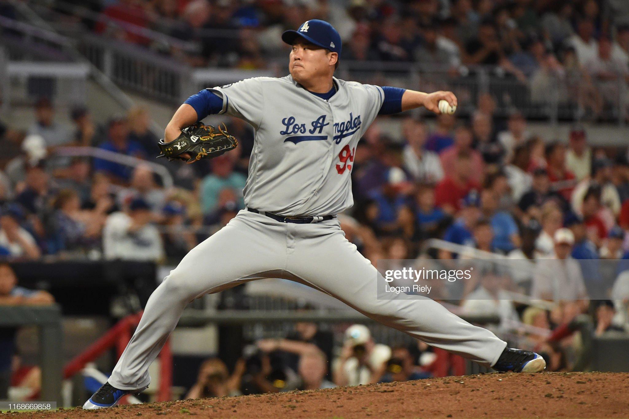 Los Angeles Dodgers v Atlanta Braves : News Photo