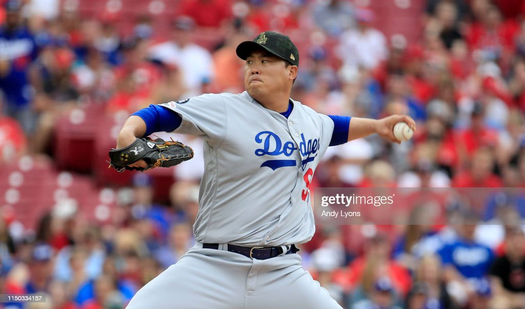 OH: Los Angeles Dodgers v Cincinnati Reds