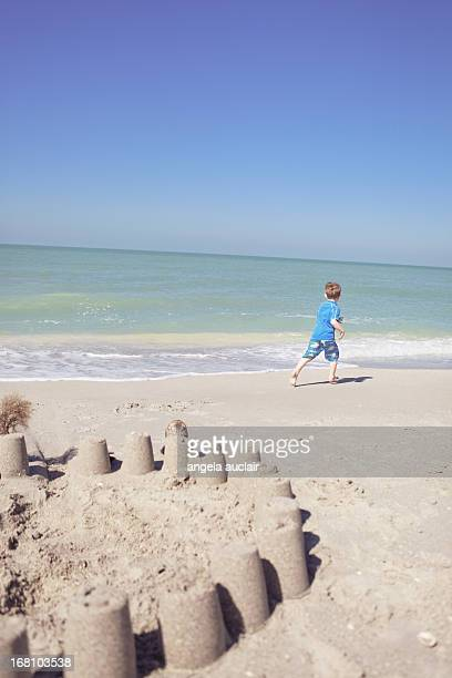 i am the queen of simple castles - captiva island stock photos and pictures