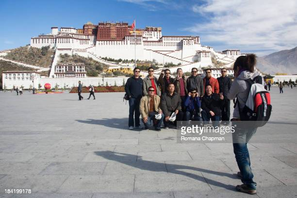 CONTENT] i cannot but help that every time I see a Chinese tour group post for a photograph before Potala Palace and it's on every tour groups...