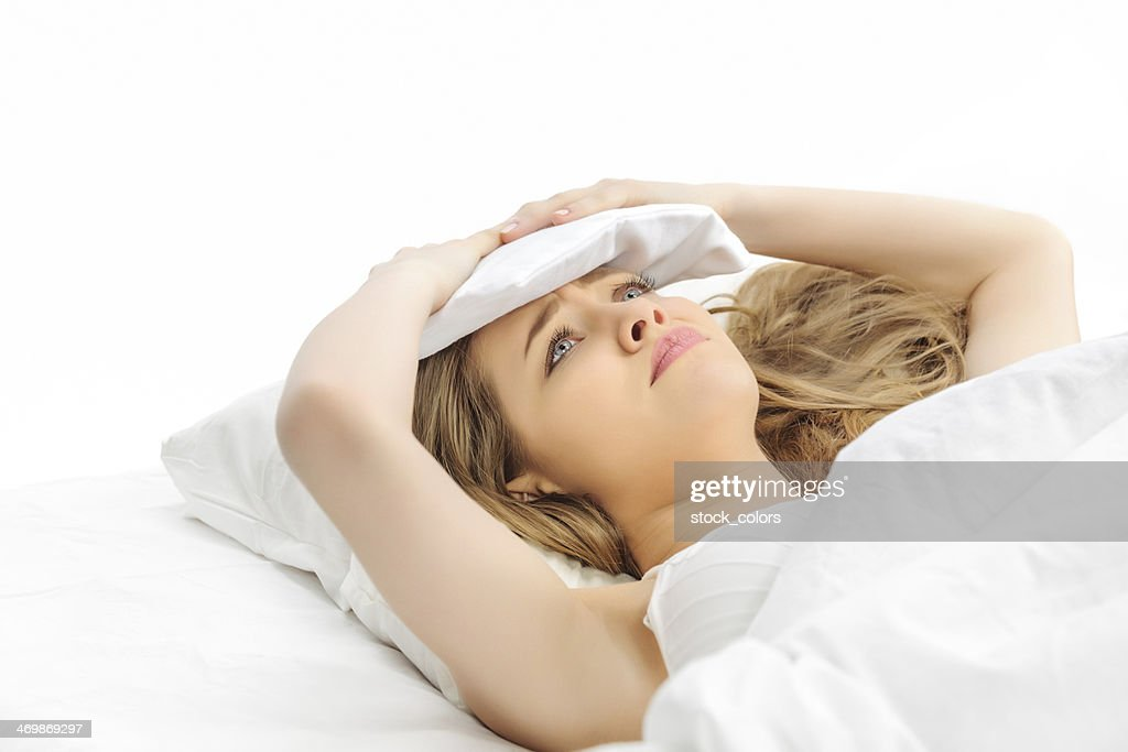 i can't sleep : Stock Photo