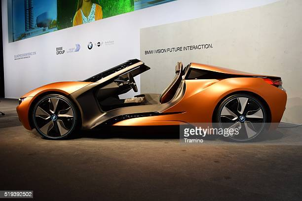 i Vision Future Interaction - futuristic car from BMW