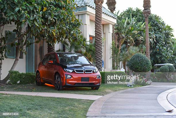 BMW i3 at Soho Desert House on April 12 2015 in La Quinta California