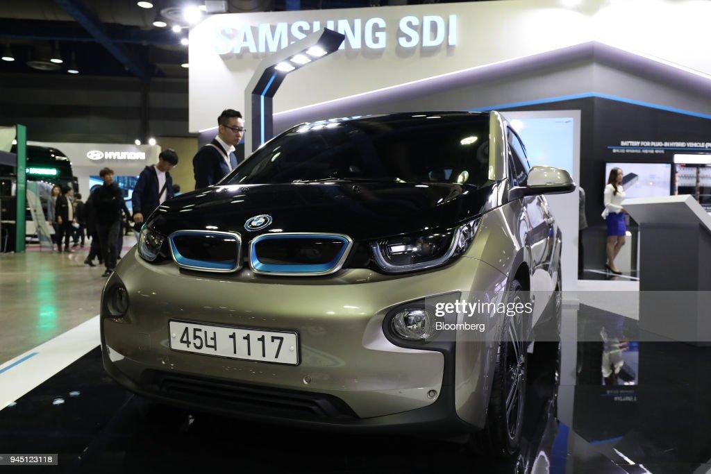 AG i3 electric vehicle using Samsung SDI Co  lithium-ion