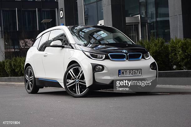BMW i3 on the street