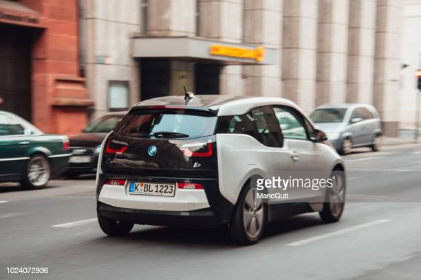 bmw i3 - bmw stock pictures, royalty-free photos & images