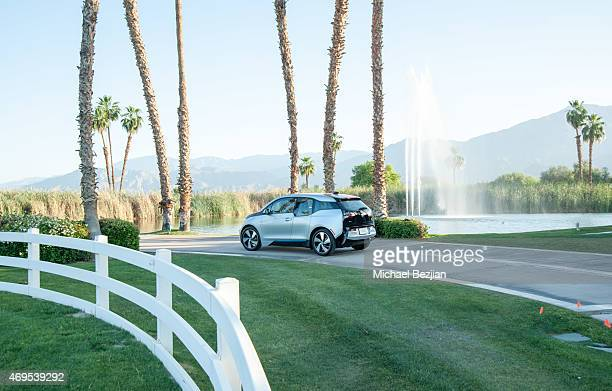 BMW i3 shuttles guests to Soho Desert House on April 12 2015 in La Quinta California