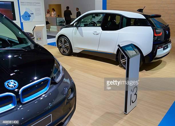 bmw i3 urban electric car - bmw bildbanksfoton och bilder