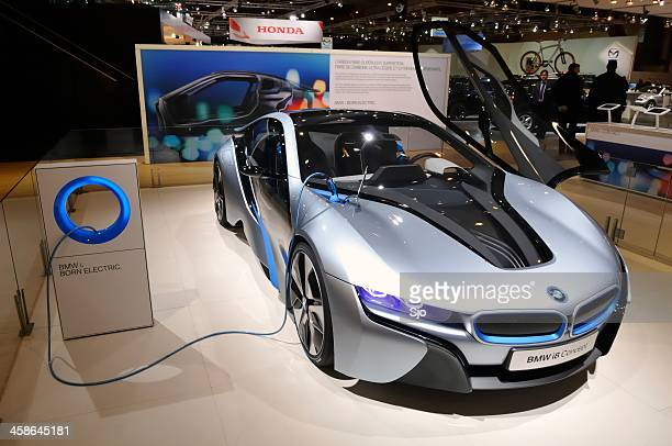 bmw i8 concept - bmw i8 stock photos and pictures