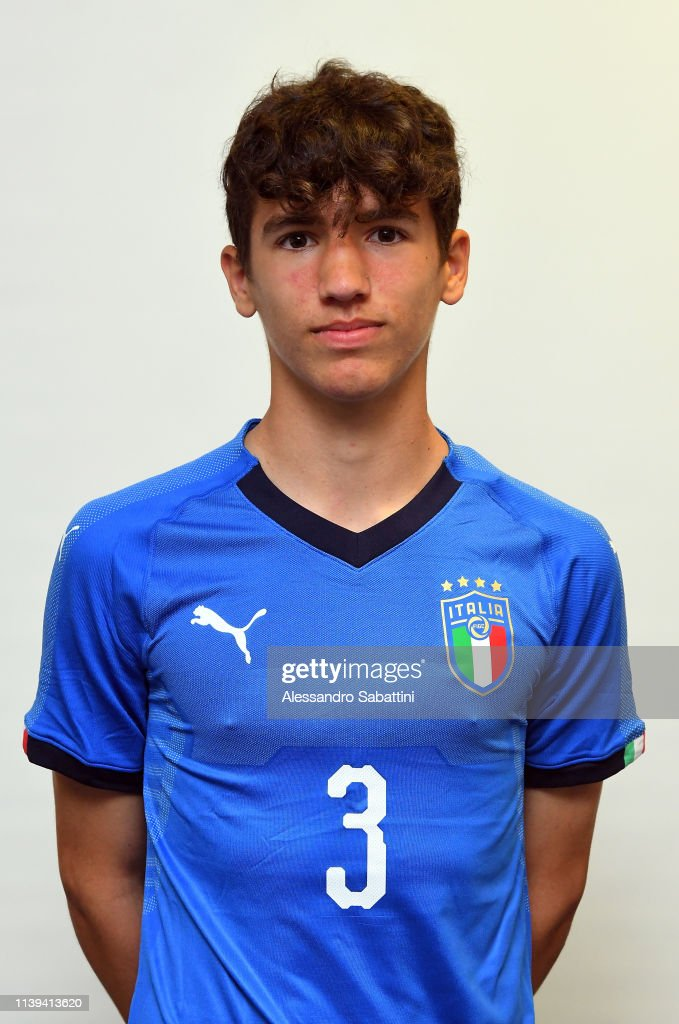 Iacopo Regonesi of italy U15 poses for the photo on April 26, 2019 ...