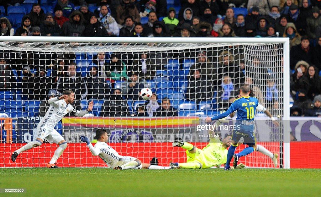 Real Madrid CF v Celta Vigo - Copa Del Rey Quarter-final: First Leg : News Photo