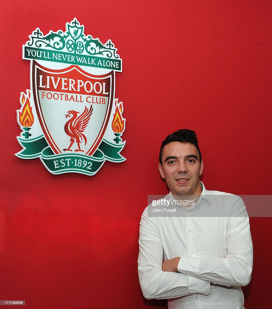 Iago Aspas Signs For Liverpool FC