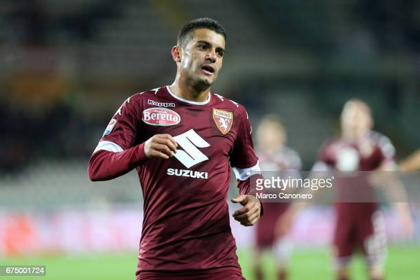 Iago Falque of Torino FC during the Serie A football match between Torino FC and Uc Sampdoria The match ended in a 11 draw