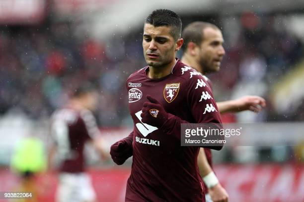 Iago Falque of Torino FC during the Serie A football match between Torino Fc and ACF Fiorentina ACF Fiorentina wins 21 over Torino Fc