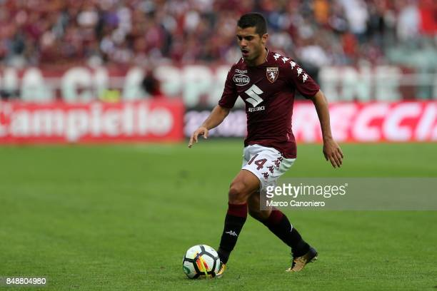 Iago Falque of Torino FC in action during the Serie A football match between Torino Fc and Uc Sampdoria