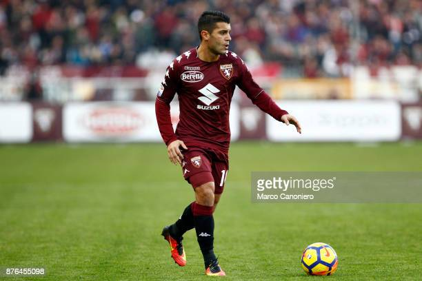 Iago Falque of Torino FC in action during the Serie A football match between Torino Fc and Ac Chievo Verona The match ended in a 11 tie