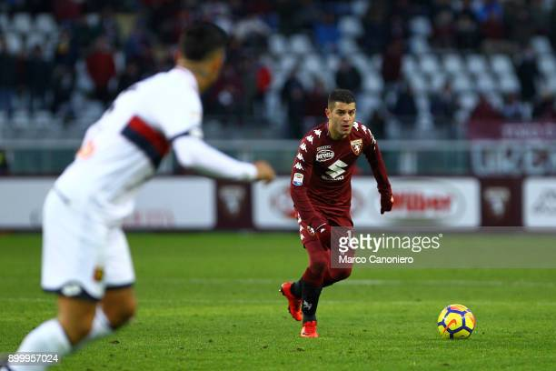 Iago Falque of Torino FC in action during the Serie A football match between Torino Fc and Genoa Cfc
