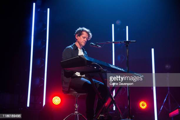 Iain Archer of Snow Patrol perform during the NI Music Awards at Ulster Hall on November 07, 2019 in Belfast, Northern Ireland.