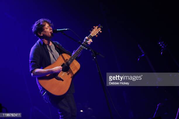 Iain Archer performs at Olympia Theatre as support to Snow Patrol on January 15, 2020 in Dublin, Ireland.