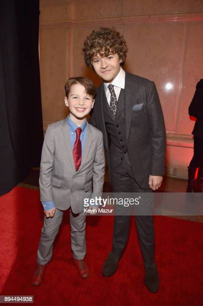Iain Armitage and Gaten Matarazzo attend CNN Heroes 2017 at the American Museum of Natural History on December 17 2017 in New York City 27437_015