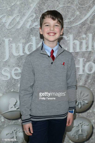 Iain Armitage attends Brooks Brothers Annual Holiday Celebration To Benefit St Jude at The West Hollywood EDITION on December 07 2019 in West...