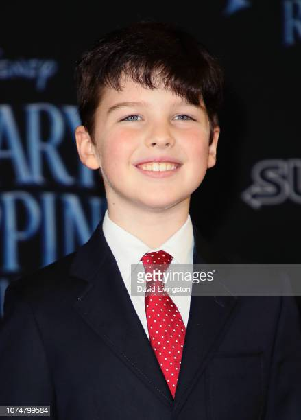 Iain Armitage attends the premiere of Disney's Mary Poppins Returns at the El Capitan Theatre on November 29 2018 in Los Angeles California