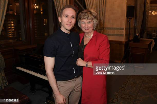 Iain Bell and Lesley Garrett attend a panel discussion on the lives of the women killed by Jack the Ripper in collaboration with charity 'Beyond The...