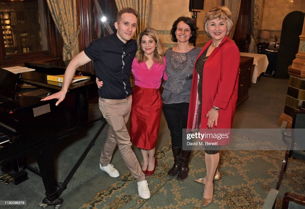 GBR: Lesley Garrett Performs At A Jack The Ripper Panel Discussion