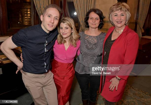 Iain Bell Hallie Rubenhold CoDirector of 'Beyond the Streets' Josephine Knowles and Lesley Garrett attend a panel discussion on the lives of the...