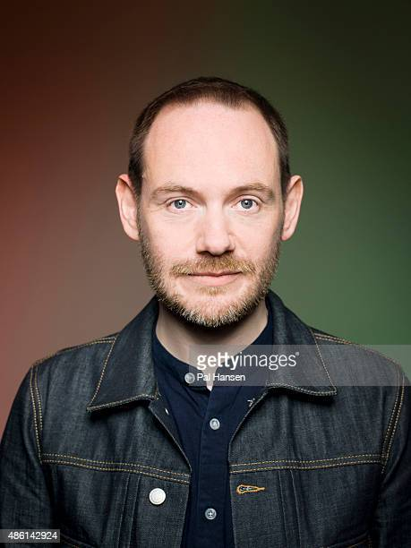 Iain Cook of the Electronic band Chvrches is photographed for Under the Radar magazine on June 23 2015 in Glasgow Scotland