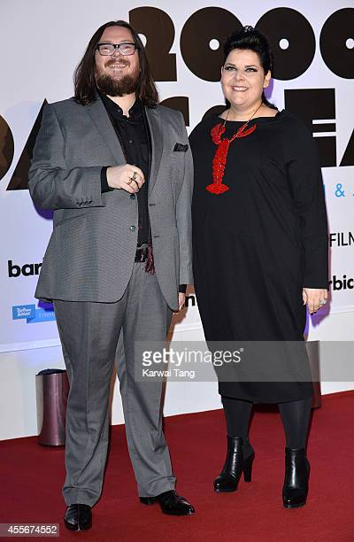 """Iain Forsyth and Jane Pollard attend the """"20,000 Days on Earth"""" screening at Barbican Centre on September 17, 2014 in London, England."""