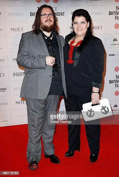 Iain Forsyth and Jane Pollard attend The Moet British Independent Film Awards at Old Billingsgate Market on December 7, 2014 in London, England.