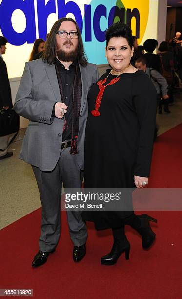 Iain Forsyth and Jane Pollard attends a Gala Screening of 20000 Days On Earth at the Barbican Centre on September 17 2014 in London England