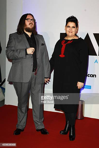 """Iain Forsyth and Jane Pollard attends the """"20,000 Days on Earth"""" screening at Barbican Centre on September 17, 2014 in London, England."""