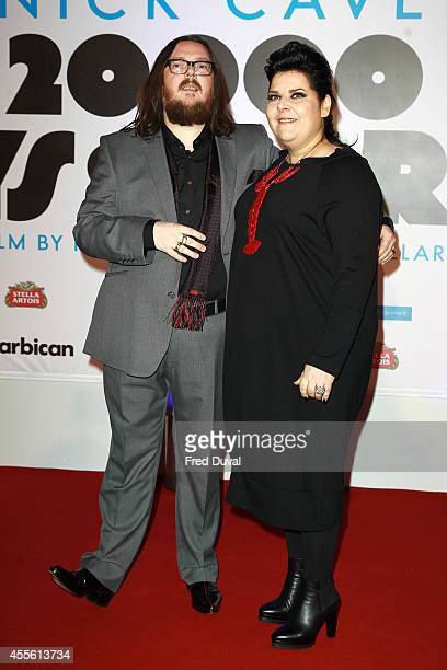 Iain Forsyth and Jane Pollard attends the 20000 Days on Earth screening at Barbican Centre on September 17 2014 in London England