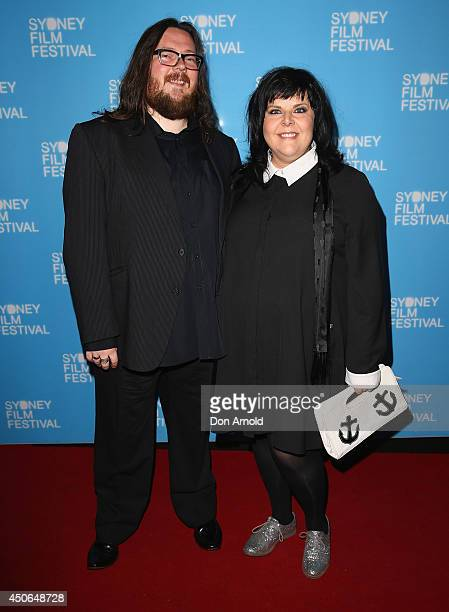 Iain Forsyth and Jane Pollard pose at the Sydney Film Festival Closing Night Gala at the State Theatre on June 15 2014 in Sydney Australia