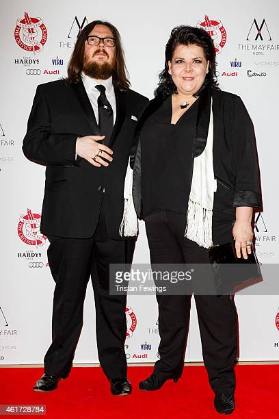Iain Forsyth and Jane Pollard ttends The London Critics' Circle Film Awards at The Mayfair Hotel on January 18, 2015 in London, England.
