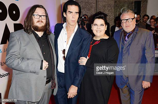 """Iain Forsyth, Nick Cave, Jane Pollard and Ray Winstone attend the """"20,000 Days on Earth"""" Gala preview screening at Barbican Centre on September 17,..."""