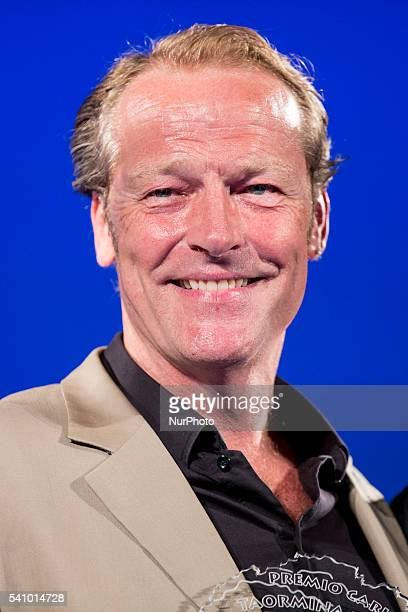 Iain Glen attends 62 Taormina Film Fest Day 7 on June 17 2016 in Taormina Italy