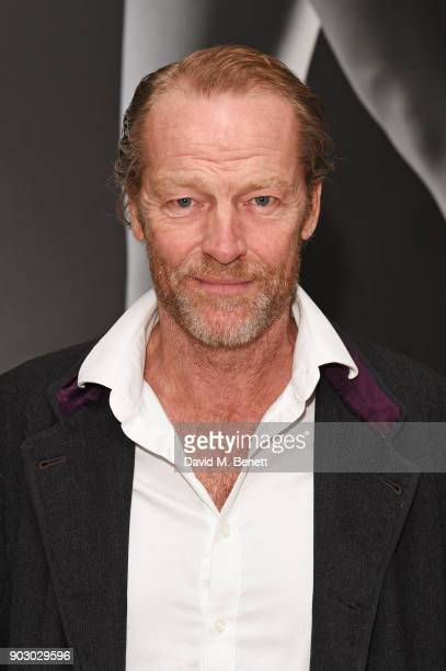 """Iain Glen attends the opening night drinks reception for the English National Ballet's """"Song Of The Earth / La Sylphide"""" at St Martins Lane on..."""