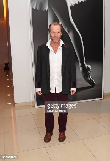 Iain Glen attends the opening night drinks reception for the English National Ballet's 'Song Of The Earth / La Sylphide' at St Martins Lane on...