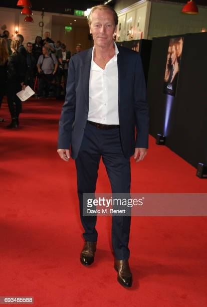 Iain Glen attends the World Premiere of 'My Cousin Rachel' at the Picturehouse Central on June 7 2017 in London England